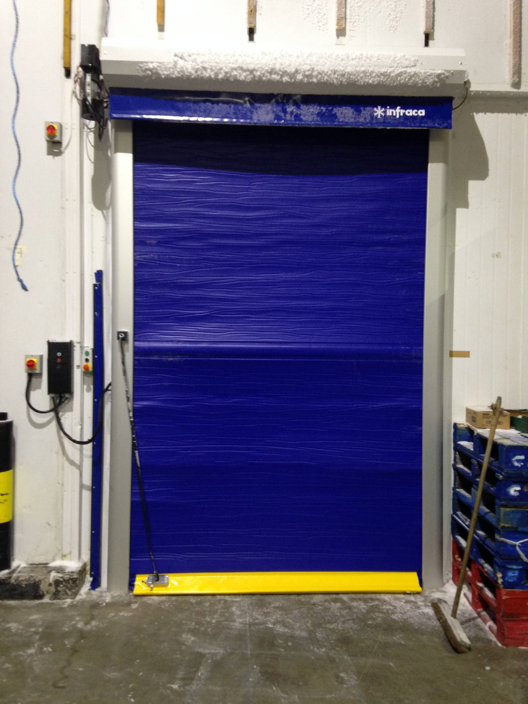 Rapid Rise Door Installation In South West England Mtcss