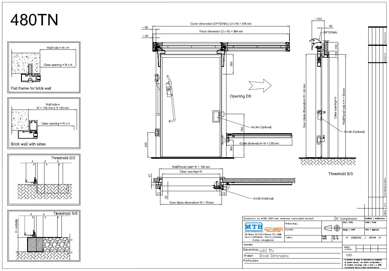 Loading Dock Floor Plan Sliding Cold Room Door Amp Mth Sliding Doors Manufacture Mtcss