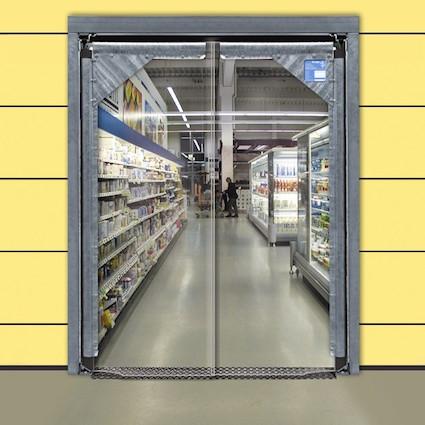 Flip Flap Swing Doors