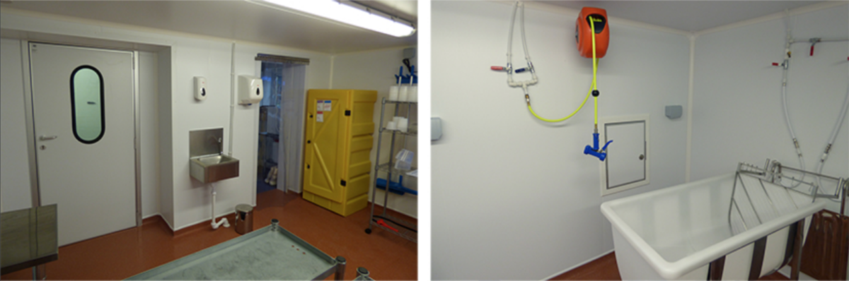 Cold Room for Cheese Maker
