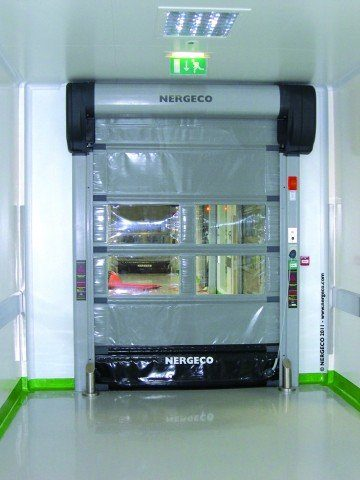 Nergeco Lab Door On Site
