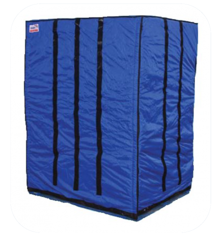 Blue Tempro Pallet Covers