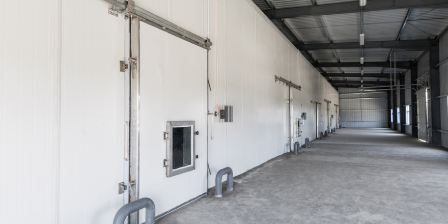 Industrial Insulated Doors