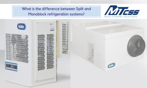 split and monoblock refrigeration system