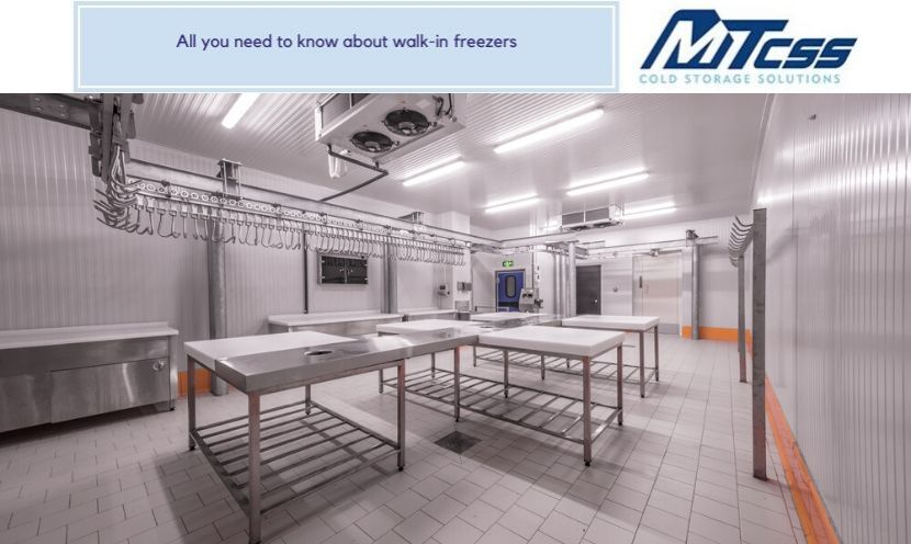 All you need to know about walk-in freezers