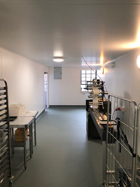 Multi Compartment Food Safe Ambient Rooms