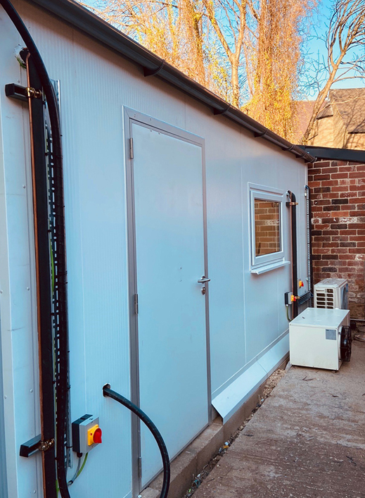 External Cold Room Forge Bakehouse